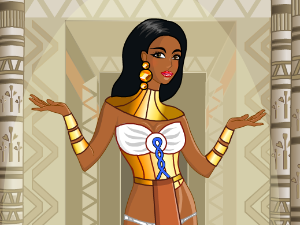 Egyptian Princess Dress Up