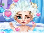 Bain de bébé Elsa