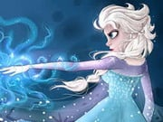Elsa Collect Snowflakes