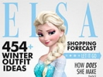 Elsa famosa rivista Interview