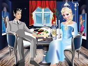 Cena romántica elsa