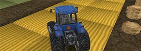 Tractor agricola controlador 3D Aparcamiento Game