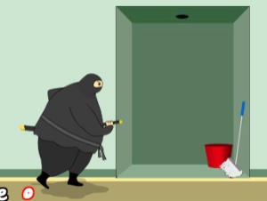 Gordo, ninja