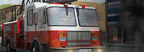 Dash Fire Truck 3D Aparcamiento Game