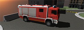 3D Fire Fighter Estacionamento Game