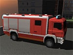 3D Fire Fighter Estacionamento