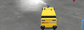 Pompier Rush Truck 3D