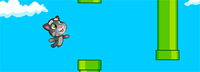 Flappy Talk Tom Game