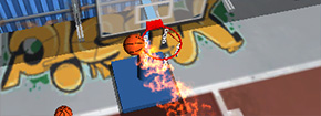 Flick Basketball Shooting Game