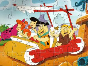 Jigsaw di Flintstones