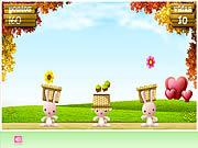 Conejito de flores