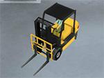 Simulatore di carrello elevatore