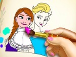 Congelado Coloring Book