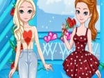 Frozen Sisters Valentine Date