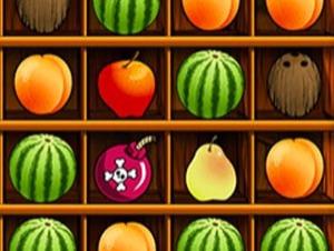 Correspondência de frutas