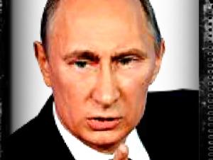 Cara divertida de Putin