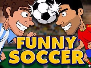 lustige Fußball