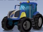 Futuristico corsa trattore
