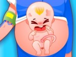 Give Birth A Cute Baby