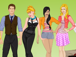 Dressup Glee Cast