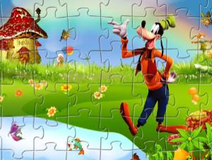 Jigsaw Goofy