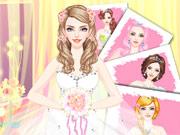 Wunderschöne Mode Braut