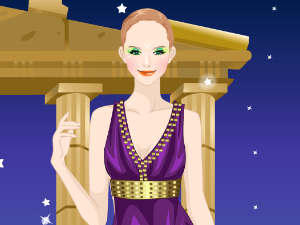 Greek Goddess Fashion Dressup