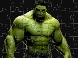 Vert Hulk Jigsaw