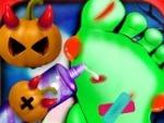 Médico de uñas de Halloween