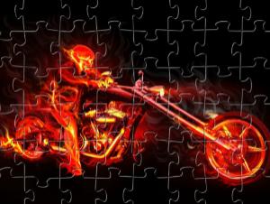 Pokol Rider Puzzle