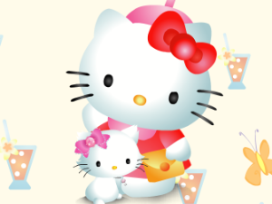 Ciao Kitty Memory Game