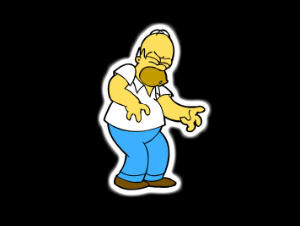 Homer Simpson Saw spill
