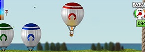 Hot Air Balloons parking Gry