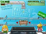 Huru Humi -pihan kierrätys