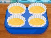 Cupcakes di cottura coccinella