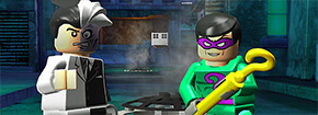LEGO Batman Two Face Chase Game