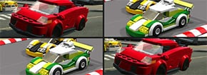 Memoria de Lego de coches Game