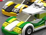 Memoria de Lego de coches