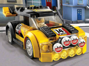 Lego Cars cartas escondidas