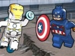 Lego Marvel Comic Pokrywa Builder