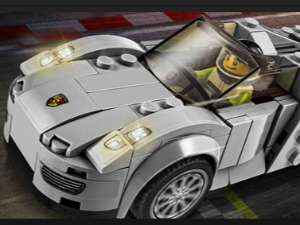Lego Porsche 918 Puzzle