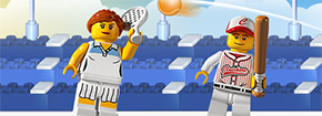 Lego Minifigures Sports Mania Game