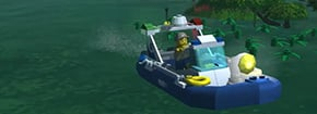 Lego City Police Pantano Game