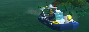 Lego City Swamp Police Game