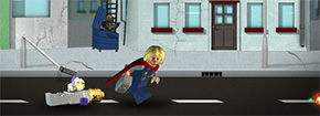 Lego Vendicatori Thor Game