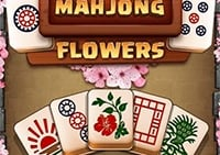 Mahjong Virágok