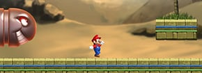Mario Egypt Run Game