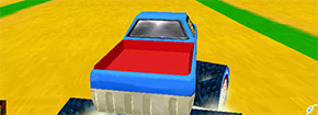 Mario Monster Truck 3D Game