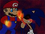 Марио срещу Sonic EXE