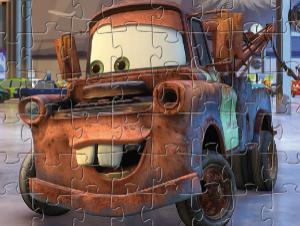 Mater Αυτοκίνητο Puzzle